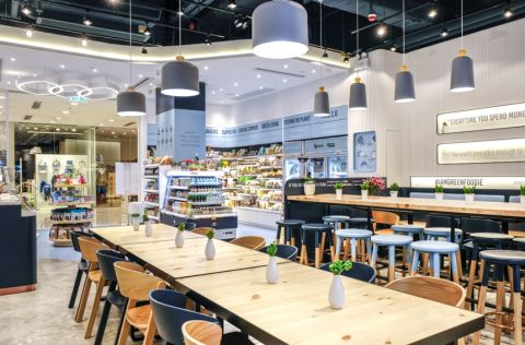 Megaman LEDs Specified for Green Common Concept Store