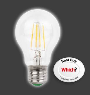 MEGAMAN Filament Lamp Achieves a Which? Best Buy