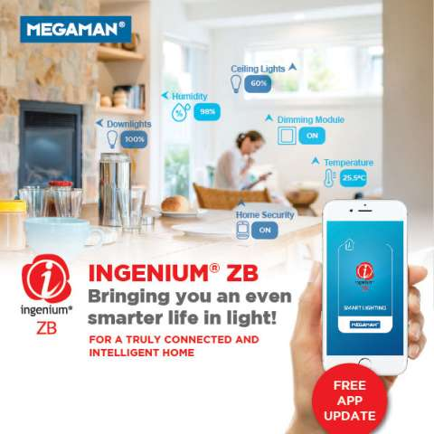 MEGAMAN LAUNCHES NEW INGENIUM® ZB APP