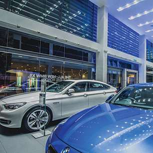 MEGAMAN® delivers dramatic lighting for BMW in Malaysia