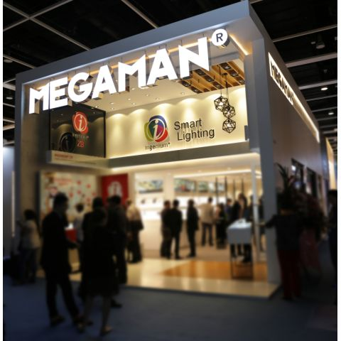 MEGAMAN® to exhibit at Hong Kong Lighting Fair 2017