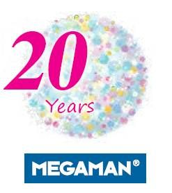 Megaman is Celebrating 20 Years in Low Energy Lighting