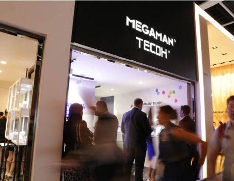 Megaman's TECOH Stand at the Hong Kong Lighting Fair 2016