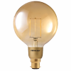 3W Gold Filament Globe G125 Dimming B22