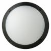 Fonda 10.5W Integrated LED Bulkhead Round 4000K (Black)