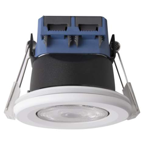 5W TEGO Integrated Fire-Rated LED Downlight with tilt bezel