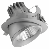 39W Carlo Downlight for Tecoh RDx (Silver) 3000K