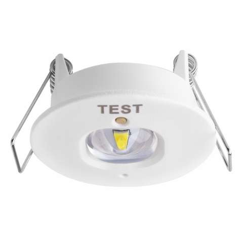 TEMPUS® EMERGENCY OPEN AREA RECESSED Spotlight Non-Maintained