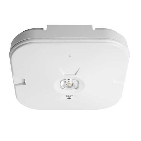 TEMPUS® EMERGENCY OPEN AREA SURFACE MOUNTED Downlight Non-Maintained