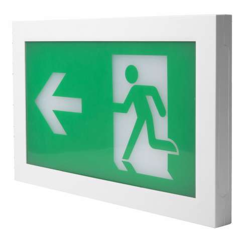 TEMPUS® EMERGENCY EXIT SIGN Wall Mounted Non-Maintained